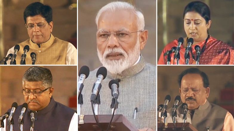 Modi Cabinet 2.0 Swearing-In Ceremony News Updates: নরেন্দ্র মোদি-র মন্ত্রিসভায় পুর্ণ মন্ত্রী পেল না বাংলা, ৫৭ জনের মন্ত্রিসভায় বাংলার দুইয়ে বাবুল সুপ্রিয়-র সঙ্গে প্রতিমন্ত্রী দেবশ্রী চৌধুরী