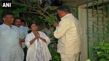 LOK SABHA ELECTIONS 2019: কালীঘাটে মমতার সঙ্গে ৪৫ মিনিট বৈঠক করলেন চন্দ্রবাবু নাইডু