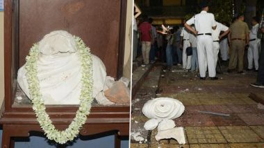 বিদ্যাসাগরের মূর্তি ভাঙার ঘটনার তদন্তে সিট গঠন করল কলকাতা পুলিস
