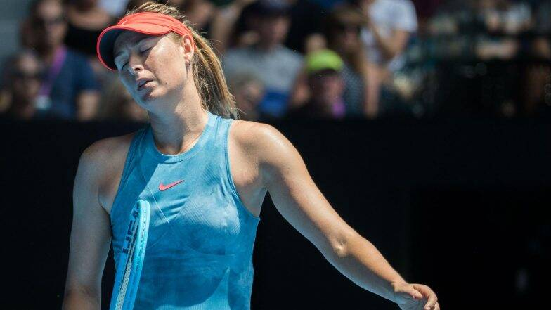 French Open 2019: কাঁধের চোটে ছিটকে গেলেন মারিয়া শারাপোভা
