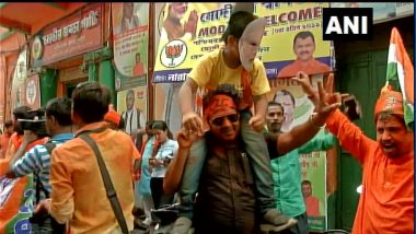 Lok Sabha Elections Result 2019: মোদি ঝড় বইছে গোটা দেশে, উল্লাস শুরু কলকাতাতেও