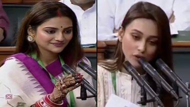 MP Nusrat Jahan: বিদেশে বিয়ে সেরে সংসদে শপথ নুসরত জাহানের, বন্ধুর বিয়ে সেরে মিমি-রও সাংসদ হওয়ার আনুষ্ঠানিকতা সম্পূর্ণ