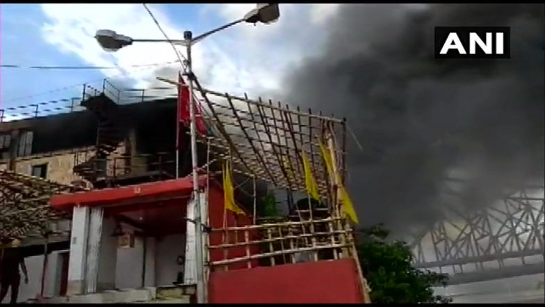 Howrah Fire:হাওড়ার জগন্নাথ ঘাটে বিধ্বংসী অগ্নিকাণ্ড, ঘটনাস্থলে দমকলের ২৫টি ইঞ্জিন