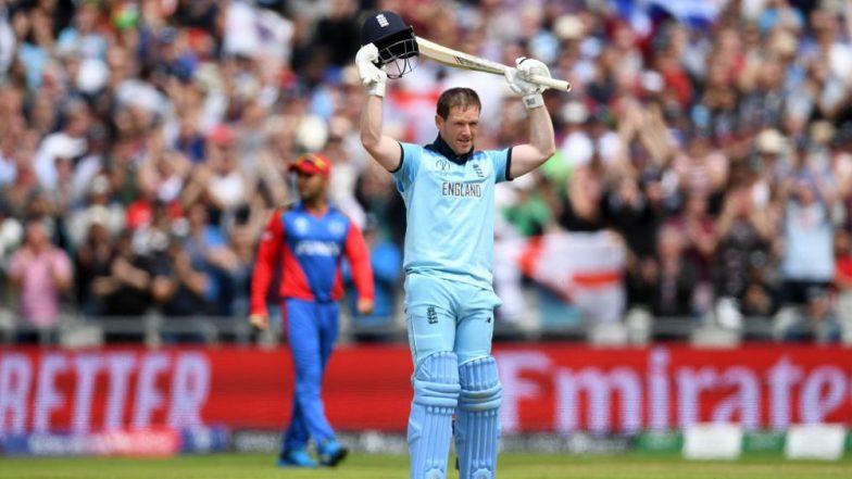 ICC World Cup 2019: ১৭ ছক্কার ঝড়, ২২গজের বিশ্বযুদ্ধে চমকে দিলেন ইংল্যান্ড অধিনায়ক ইয়ন মর্গ্যান