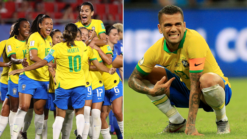 Brazil ফুটবলে দুই চিত্র: Copa America 2019-এ দুটো গোল বাতিলের ধাক্কায় ভেনেজুয়েলার বিরুদ্ধে ড্র,  Women's World Cup-এ মার্তার রেকর্ডে নক আউটে