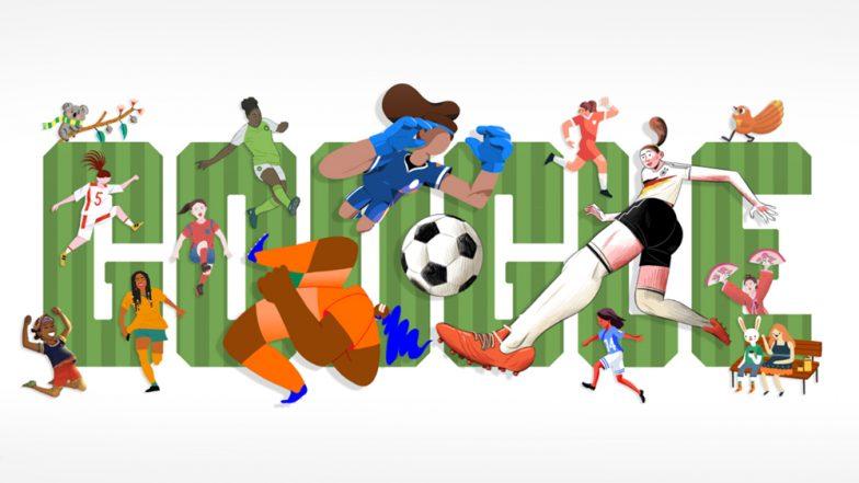 মহিলাদের ওয়ার্ল্ডকাপ ২০১৯ দিন ১: আজ থেকে শুরু হওয়া ফিফা মহিলাদের বিশ্বকাপের রঙে রঙীন Google Doodle
