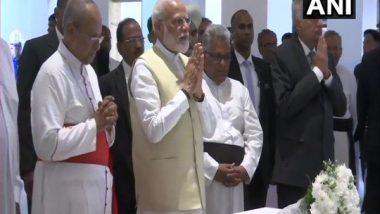Srilanka Visit: ইস্টার বিস্ফোরণে বিধ্বস্ত চার্চে প্রার্থনা করলেন প্রধানমন্ত্রী নরেন্দ্র মোদি