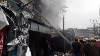 Shiliguri Fire: সাত সকালে শিলিগুড়ির বিধান মার্কেটে বিধ্বংসী আগুন