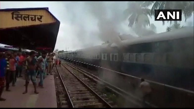 Train Fire:সিলচর–তিরুঅনন্তপুর সুপার ফাস্ট এক্সপ্রেসে আগুন, আতঙ্কে যাত্রীরা