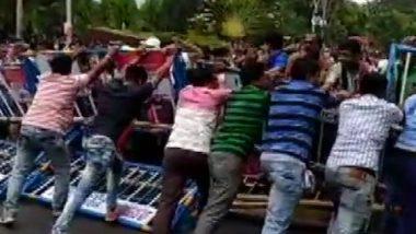 West Bengal Teacher's Agitation: পার্শ্বশিক্ষকদের বিক্ষোভ ঘিরে রণক্ষেত্র করুণাময়ী