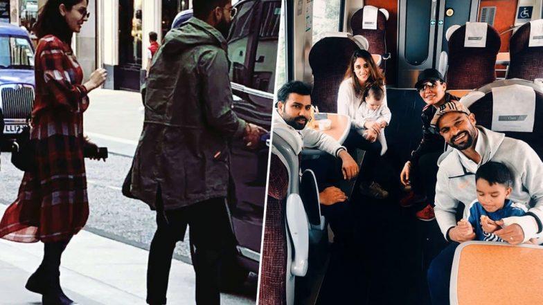 ICC World Cup 2019: পাক বধের খুশিতে লন্ডনে একসঙ্গে বিরাট কোহলি-অনুষ্কা শর্মা, আফগান ম্যাচের আগে পরিবার নিয়ে ফুরফুরে মেজাজে রোহিত-ধাওয়ানরাও
