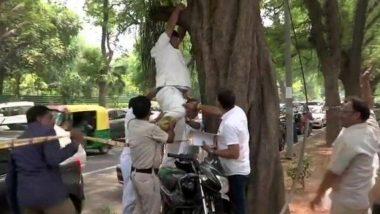 Delhi: রাহুল গান্ধী-র পদত্যাগ ঠেকাতে দিল্লিতে কংগ্রেস ভবনের সামনে আত্মহত্যার চেষ্টা কর্মীর