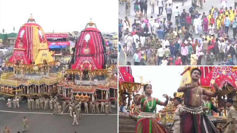 Jagannath Rath Yatra 2019: 'জয় জগন্নাথ রবে' মানুষের সুনামিতে ভেসে পুরীতে রথযাত্রার শুরু, শুভেচ্ছা প্রধানমন্ত্রী-রাষ্ট্রপতির