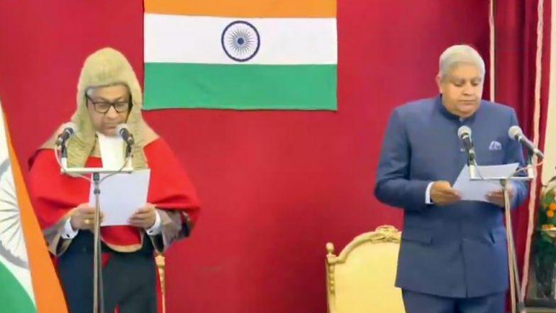 Jagdeep Dhankhar sworn-in: রাজভবনে শপথ রাজ্যপাল জগদীপ ধনকরের
