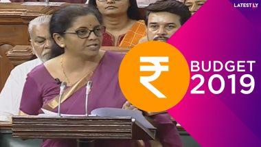 Budget 2019 Live Update in Bengali : ''আয়করের হার অপরিবর্তিত, রেলে বড় প্রকল্পের ঘোষণা নেই, পেট্রোল-ডিজেলে চাপানো হল অতিরিক্ত কর, তিন বছরের মধ্যেই সব ঘরে গ্যাস কানেকশন-''ঘোষণা অর্থমন্ত্রী নির্মলা সীতারামনের