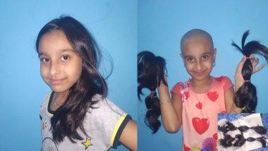 Wig for Cancer Patient:ক্যানসার রোগীদের বাঁচাতে একঢাল চুল কেটে নেড়া হল ছোট্ট তিতির