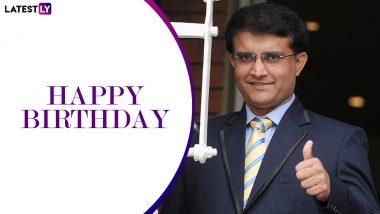 Happy Birthday Sourav Ganguly: 'মহারাজ' সৌরভ গঙ্গোপাধ্যায়ের জন্মদিনে তারকা ক্রিকেটারদের শুভেচ্ছাবার্তায় ছয়লাপ সোশ্যাল মিডিয়া