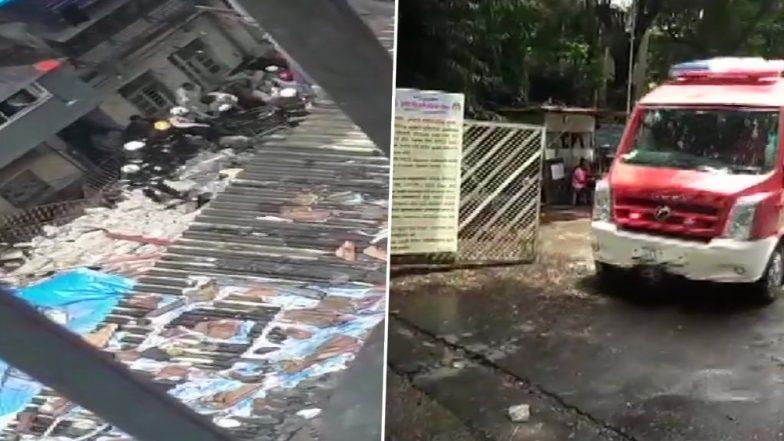 Mumbai: ভেঙে পড়ল ১০০ বছরের পুরনো চার তলার বহুতল, ধ্বংসস্তুপে ৫০ জনের আটকে থাকার আশঙ্কা (দেখুন ভিডিও)