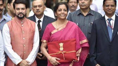 Budget 2019: বাজেট ব্রিফকেস ব্রাত্য করে লাল কাপড়ে মোড়া ফাইল নিয়ে ব্যতিক্রমী অর্থমন্ত্রী