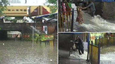 Mumbai Rains: ব্যাপক বৃষ্টির মাঝে আজ মুম্বইয়ে প্রবল জলচ্ছ্বাসের পূর্বাভাস, বন্যার আশঙ্কা (দেখুন ট্রেনের জাহাজ হওয়ার দৃশ্য)