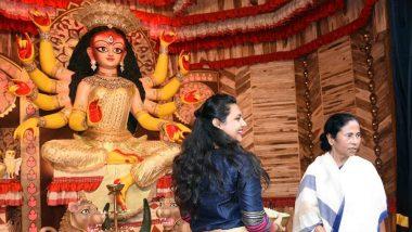 দুর্গাপুজো কমিটিকে কোনও নোটিশই পাঠানো হয়নি, তৃণমূলের ধর্নার মাঝে জানাল আয়কর দফতর