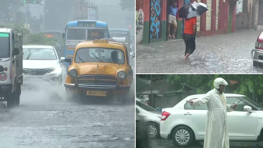 Kolkata Rains News Update: প্রবল বৃষ্টিতে শহরের রাস্তা যেন নদী, বেহালা থেকে বালিগঞ্জ-পার্কস্ট্রিট থেকে পাতিপুকুর, শুধু জল আর জল, ট্রেন-বিমান চলাচলে বিঘ্ন