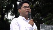 TMC MP Abhishek Banerjee: বিপাকে শুভেন্দু অধিকারী, বিজেপি নেতাকে আইনি নোটিশ অভিষেক ব্যানার্জির