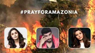 Amazon Rainforest Fires: বিশ্ব উষ্ণায়ণের প্রকোপে এবার ব্রাজিলের আমাজন অরণ্য বিধ্বংসী অগ্নিকান্ড নিয়ে চিন্তিত বি-টাউন