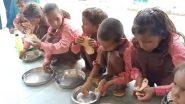 রুটি নুন খাচ্ছে পড়ুয়ারা, উত্তর প্রদেশের স্কুলের মিড-ডে মিলের মেনু ভাইরাল