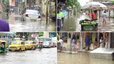 West Bengal Weather Update: শহরের বিভিন্ন জায়গায় এখনও জমে জল, দুর্যোগ আরও ২৪ ঘণ্টা চলার পূর্বাভাস
