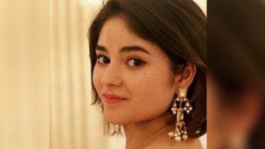 #Kashmir এবার কাশ্মীর নিয়ে মুখ খুললেন জায়রা ওয়াসিম