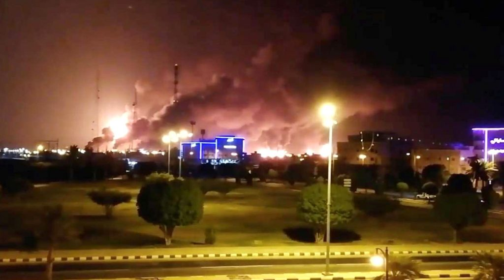 Saudi Arabia: ড্রোন হামলায় সৌদি আরবের আরামকো তৈলখনিতে আগুন