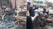 শিলিগুড়ি: ভোররাতে জংশন এলাকায় ভয়াবহ অগ্নিকাণ্ড, ভস্মীভূত ১৪টি দোকান