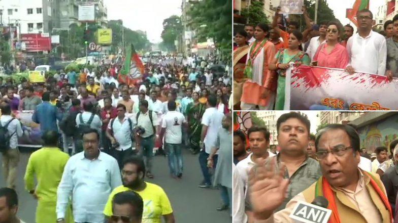 Babul Supriyo: বাবুল সুপ্রিয়কে 'নিগ্রহের' প্রতিবাদে কলকাতায় মিছিল বিজেপির, থানায় গেল দু পক্ষই