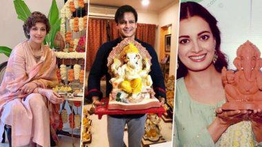 Ganesh Chaturthi 2019: দিয়া মির্জা, সোনালী বেন্দ্রে থেকে বিবেক ওবেরয়, একতা কাপুর মেতেছেন গণেশ আরাধনায়, সোশ্যাল মিডিয়ায় কমেন্টের ঝড়