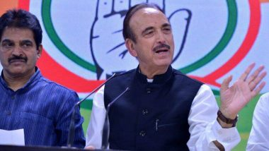 Ghulam Nabi Azad Tests Positive For Covid: করোনা আক্রান্ত প্রবীণ কংগ্রেস নেতা গুলাম নবি আজাদ