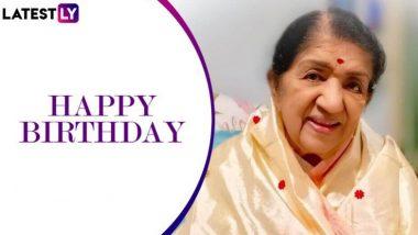 Lata Mangeshkar Birthday: সঙ্গীত সম্রাজ্ঞী লতা মঙ্গেশকরের আজ ৯০- তম জন্মদিন, শুভেচ্ছা জানিয়ে তাঁর বিখ্যাত কিছু গান (দেখুন ভিডিও)