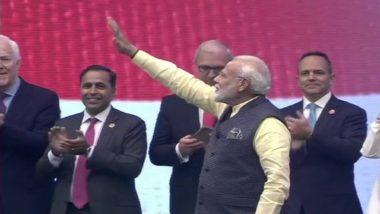 Howdy, Modi!: 'হাউডি মোদি'-র মঞ্চে প্রধানমন্ত্রী নরেন্দ্র মোদি