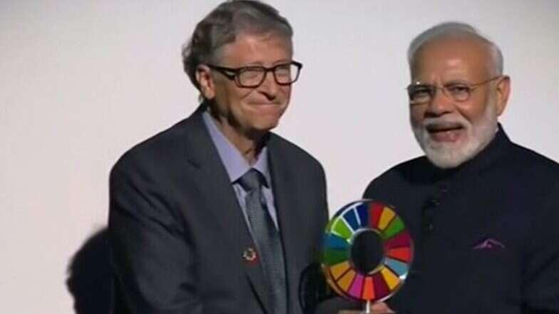 'Global Goalkeeper Award': স্বচ্ছ ভারত অভিযান-এর জন্য 'গ্লোবাল গোলকিপার অ্যাওয়ার্ড' দেওয়া হল প্রধানমন্ত্রী নরেন্দ্র মোদিকে