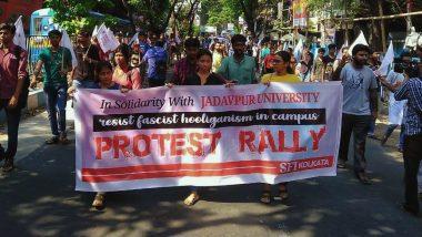Jadavpur University: যাদবপুরে ক্যাম্পাসে এবিভিপি- র তাণ্ডব, প্রতিবাদে বাম ছাত্র সংগঠনগুলির মিছিল