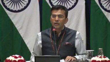 India Counters China's Objection to Jammu & Kashmir, Ladakh UT Formations: অভ্যন্তরীণ বিষয়ে বাইরের কেউ নাক গলাক তা ভারত চায় না, নাম না করেই চিনকে হুংকার বিদেশ মন্ত্রকের