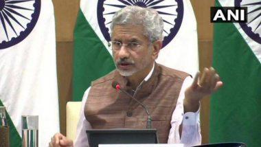 কাশ্মীর সমস্যাকে মুখ্য করে সন্ত্রাসের শিল্প খুলে বসেছে পাকিস্তান : এস জয়শংকর