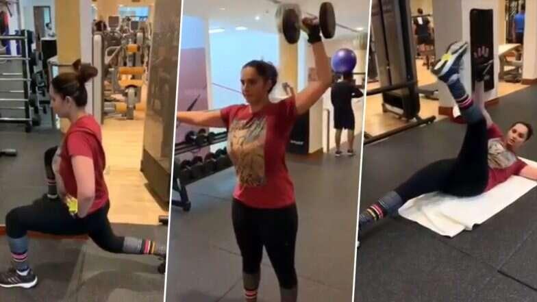 Sania Mirza Workout: মা হওয়ার পরে কীভাবে চার মাসে ২৬ কেজি ওজন কমালেন সানিয়া মির্জা (দেখুন ভিডিও)