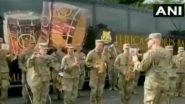 ভারতীয় সেনাদের সম্মানে 'জন গণ মন'-র সুরে ব্যান্ড বাজাল মার্কিন সেনা (দেখুন ভিডিও)