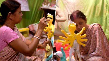 Durga Puja 2019: মাকে গড়তে মেয়েরা; ট্যাবু ভেঙে দুর্গা গড়ছেন কুমোরটুলির মহিলা মৃৎশিল্পীরা