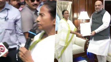হলুদ গোলাপে বন্ধুত্বের বার্তার পর অমিত শাহকে NRC নিয়ে অভিযোগ মমতা ব্যানার্জি-র, রাজীব কুমারকে নিয়ে আলোচনা হয়নি বলে জানালেন দিদি