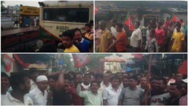 Arjun Singh: অর্জুন সিংয়ের ওপর হামলার জেরে সাতসকালে ট্রেন অবরোধ টিটাগড়ে, ব্যারাকপুরে বিজেপির বন্ধ ঘোষণা