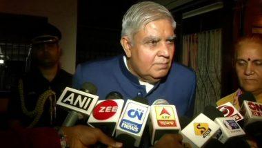 Jagdeep Dhankhar: রাজ্যপাল জগদীপ ধনখরের নিরাপত্তায় আজ থেকেই কেন্দ্রীয় বাহিনী