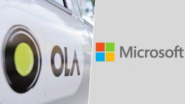 Microsoft Invest $200mn To Ola: ওলার পিছনে ২০ কোটি টাকা ঢালতে চলেছে মাইক্রোসফট!