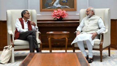 PM Narendra Modi Meets Abhijit Banerjee: নোবেলজয়ী অর্থনীতিবিদ অভিজিৎ বন্দ্যোপাধ্যায়ের কৃতিত্বে গর্বিত ভারত, কী বললেন প্রধানমন্ত্রী? (দেখুন ভিডিও)